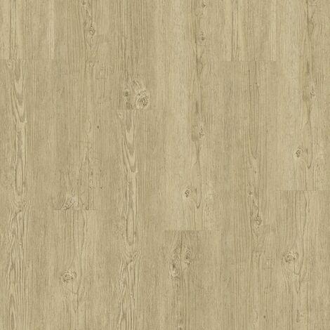 Lame PVC à clipser - boite de 7 lames - 1,61m² - Essentiel Click 30 - imitation parquet Brushed Pine Natural - Tarkett