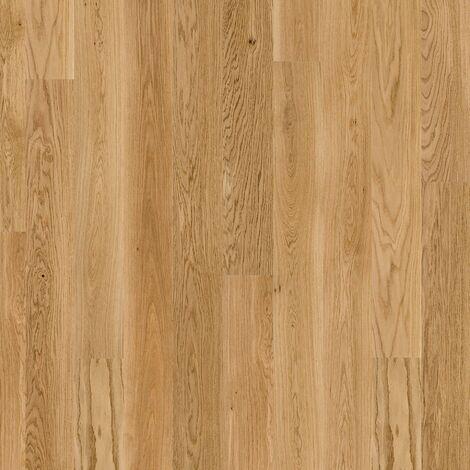Lame PVC à clipser - boite de 7 lames - 1,61m² - Essentiel Click 30 - imitation parquet English Oak Natural - Tarkett