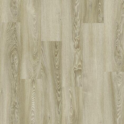 Lame PVC à clipser - boite de 7 lames - 1,61m² - Essentiel Click 30 - imitation parquet Modern Oak blanc - Tarkett