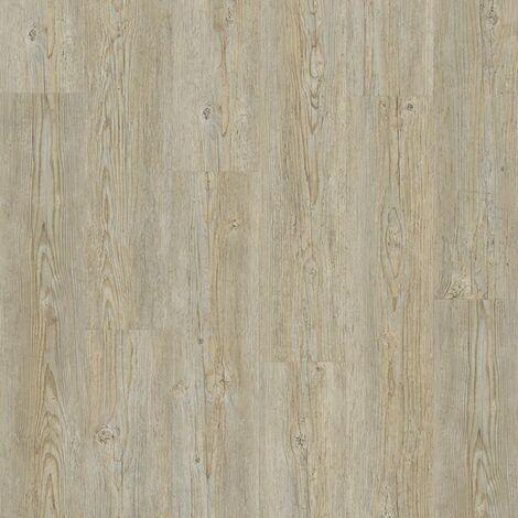Lame PVC à clipser - boite de 7 lames - 1,61m² - Starfloor Click 55 - imitation parquet Brushed Pine gris - Tarkett