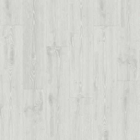 Lame PVC à clipser - boite de 7 lames - 1,61m² - Starfloor Click 55 - imitation parquet Scandinavian Oak Light gris - Tarkett
