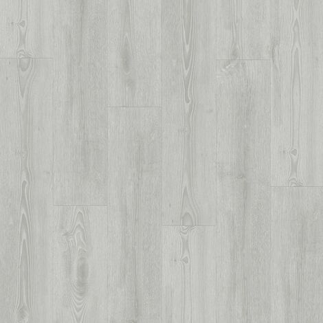 Lame PVC à clipser - boite de 7 lames - 1,61m² - Starfloor Click 55 - imitation parquet Scandinavian Oak medium gris - Tarkett
