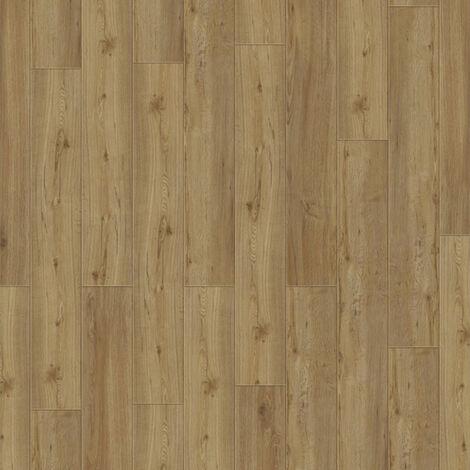 Lame PVC à clipser - boite de 9 lames - 2m² - Starfloor Click 30 - imitation parquet Soft Oak Natural - Tarkett