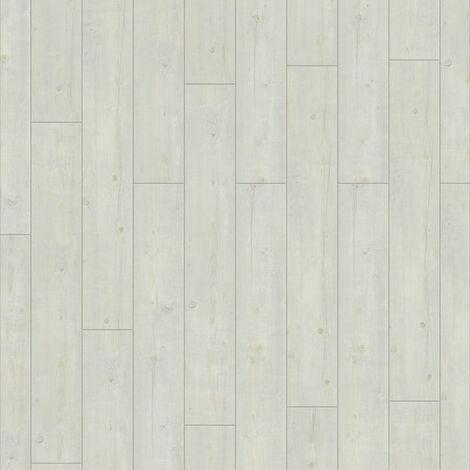 Lame PVC à clipser - boite de 9 lames - 2m² - Starfloor Click 30 - imitation parquet Washed Pine Snow - Tarkett
