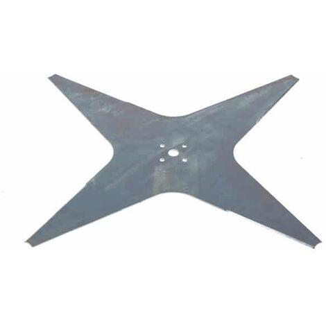 Lame robot tondeuse plate 4 dents diamètre 355 mm WIPER 300d004202 - 300d004204 - 937920 one xh