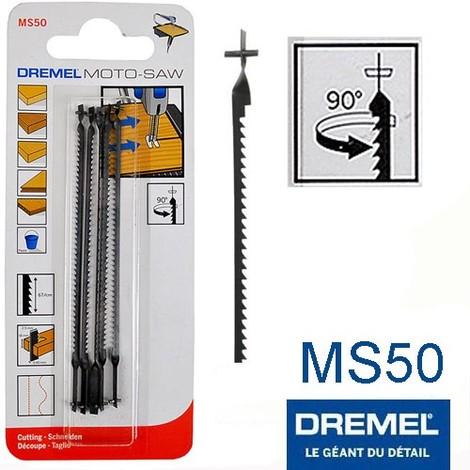 lame scie à chantourner 100 mm avec ergot DREMEL MS50