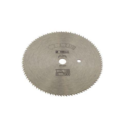 Lame scie circulaire 140x12,7 100 dents pour Scie circulaire Black & decker