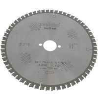 Lame scie circulaire 216x30 60 dents pour Scie a onglets Metabo, Scie a onglets Dexter power