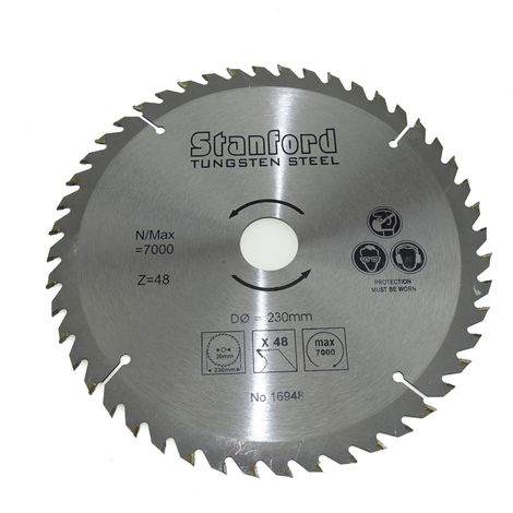 Lame scie circulaire 230 mm 48 dents