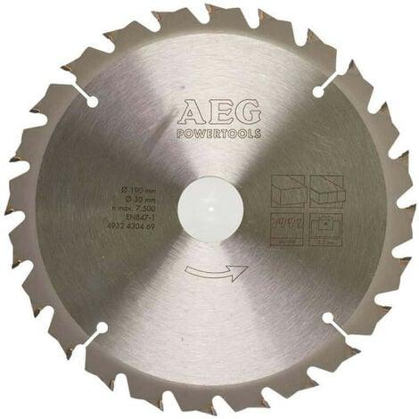 Lame scie circulaire AEG 2.2x190mm 4932430469