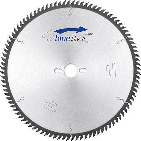 Lame scie circulaire AKE blueline D : 216x2,8x30mm 80 dents pour aluminium et plastique