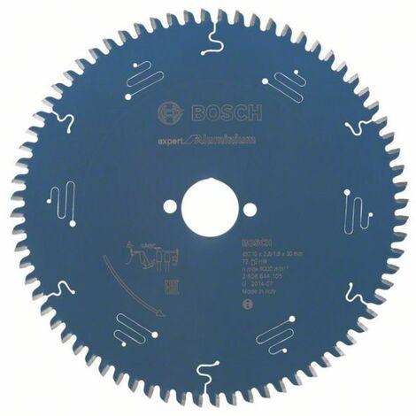 Lame scie circulaire Expert Alu BOSCH 52 dents 160x20x2,2/1,6 mm - 2608644094