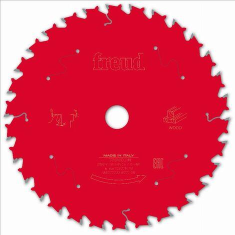 Lame scie circulaire portative filaire/sans fil FREUD - Ø182 1,7/1,3 AL19,05 Z30 BA 15° - F03FS09700 -FR10W001H