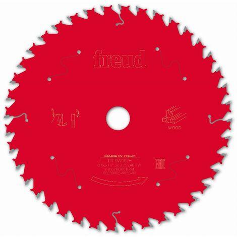 Lame scie circulaire portative filaire/sans fil FREUD - Ø182 1,7/1,3 AL19,05 Z40 BA 15° - F03FS09701 -FR10W002H