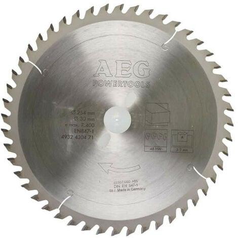 Lame scie radiale 48 dents AEG 3.2x254mm 4932430471