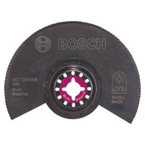 100 mm semi circulaire HCS Segment Lame De Scie Oscillant Multi-fonction Outils