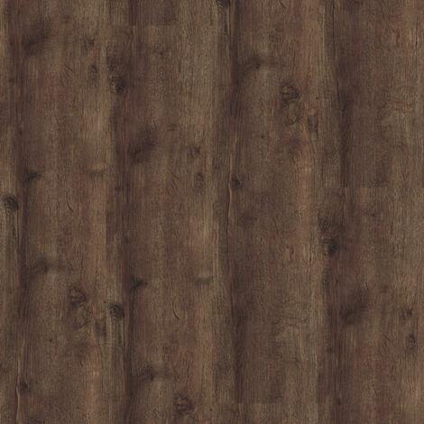 Lame sol PVC Clipsable - Parquet Chêne brun foncé (Oak 24870)