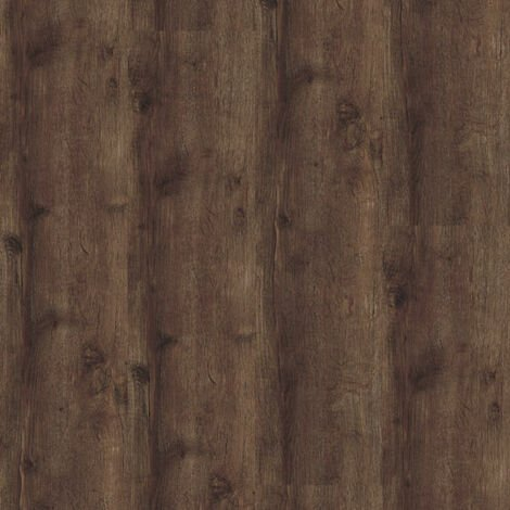 Lame sol PVC Clipsable - Parquet Chêne brun foncé (Oak 24870) - Paquet de 2,246m²