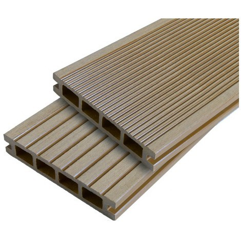 Lame terrasse bois composite alvéolaire Dual