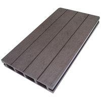 Lame terrasse bois composite alvéolaire Qualita L 360 cm / l14 cm / ep 2,5 cm