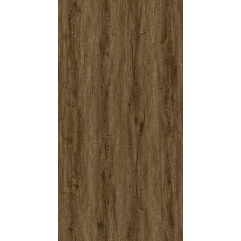 Lame vinyle RIGIDE CLICK 430 avec sous-couche intégrée 5.5 mm - Idéal Chambre & Salon effet bois marron