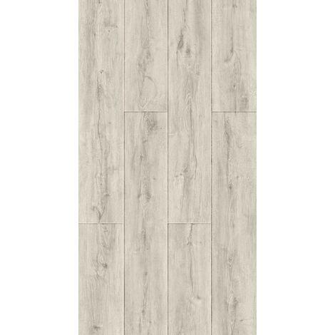 Lame vinyle rigide clipsable avec sous couche intégrée - Deauville Chêne Blanchi | 2.43 mètre carré