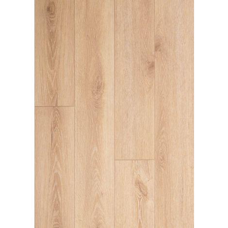 Lame vinyle rigide clipsable avec sous couche intégrée- Megève - Teinte chêne Naturel | 1.56 mètre carré