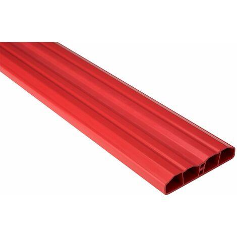 Lamelles de clôture | PVC | PVC | stable | jardin | framboise | hexim | 80x16mm | PZL-18