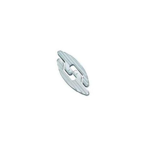 Lamello aluminium - Dimensions : 54 x 23 x 4 mm - LAMELLO