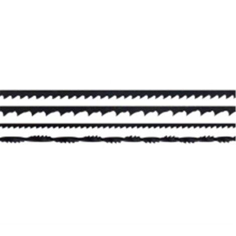 Lames de scie 160 mm BLI - DE (ép. 0,40 mm) A (ép. 0,75 mm)