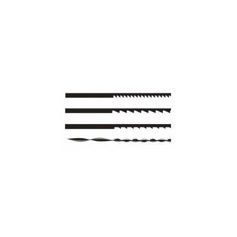 Lames de scie 160 mm réf. désignation carte de 12 lamesutilisation coupes finesdenture 25 tpifixation pinces
