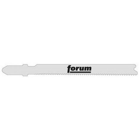 Lames de scie sauteuse pour métal, coupe droite fine, Réf. Bosch : T 118 AF, Qualité de lame de scie BiM, Long. totale 92 mm, Pas de dents : 1,1-1,5 mm