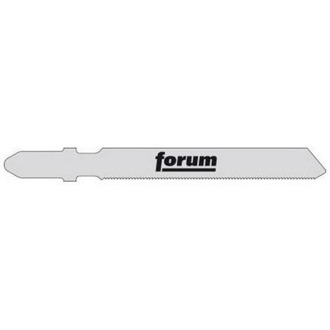 Lames de scie sauteuse pour métal, coupe droite fine, Réf. Bosch : T 118 G, Qualité de lame de scie Acier à coupe rapide, Long. totale 92 mm