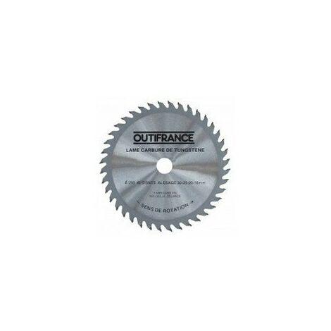 """main image of """"Lames de scies circulaires bois 1 lame diamètre:200 mmnombre de dents:20 alésage:30 mm epaisseur:"""""""