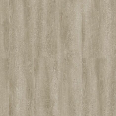 Lames de sol PVC clipsables trafic intense - boite de 5 lames sol vinyle imitation parquet- 1,79m² - Starfloor Click 55 -antik chêne light gris - TARKETT