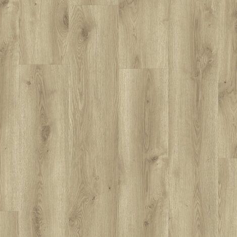 Lames de sol PVC clipsables trafic intense - boite de 5 lames sol vinyle imitation parquet- 1,79m² - Starfloor Click 55 -Contemporary Oak Natural - TARKETT