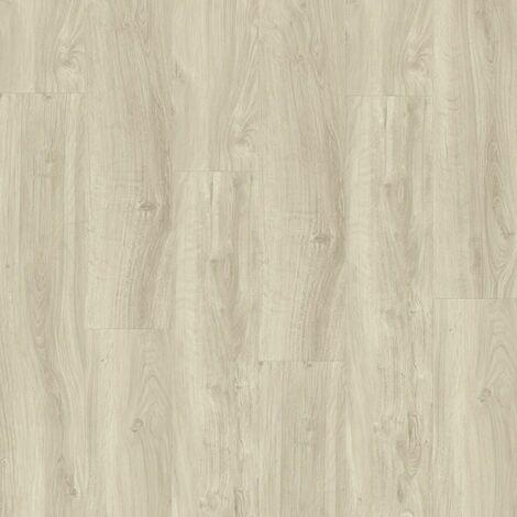 Lames de sol PVC clipsables trafic intense - boite de 7 lames sol vinyle imitation parquet- 1,61m² - Starfloor Click 55 - chêne anglais light beige - TARKETT