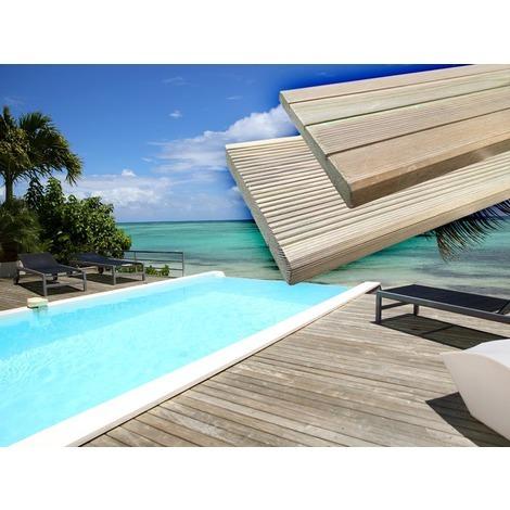 Lames de terrasse en bois Autoclavé - DE 10.16 m² A 30.48 m²