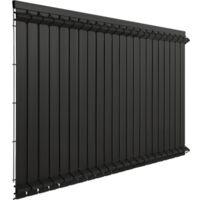 Lames Occultation Grillage Rigide Gris - JARDIPREMIUM - 1,23m