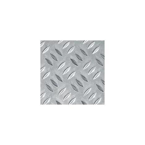 Lamiera Alluminio Mandorlata Cm 50x20 Spessore Mm 1 5