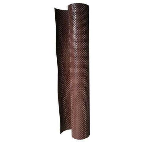 Lámina de protección para paredes subterráneas - SIKA Foundation Protection - Rollo 30 x 1,5m - Marrón