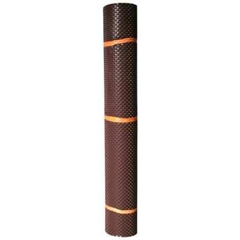 Lámina de protección para paredes subterráneas - SIKA Foundation Protection - Rollo 30 x 1m - Marrón