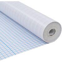 Lámina de ventana de privacidad opaca tiras adhesivas 0,9x20 m
