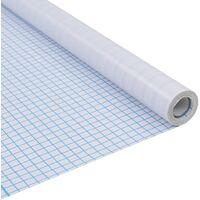 Lámina de ventana de privacidad opaco tiras adhesivas 0,9x5 m