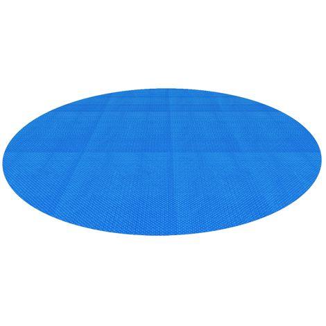 "main image of ""Lámina piscina protección lona solar calefacción granos burbujas 5 m color azul"""