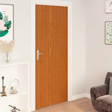 Laminas autoadhesivas muebles 2 uds PVC roble claro 500x90 cm