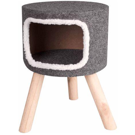LAMINGO Cat Bed Nordic 35x50 cm Grey 560332 - Grey