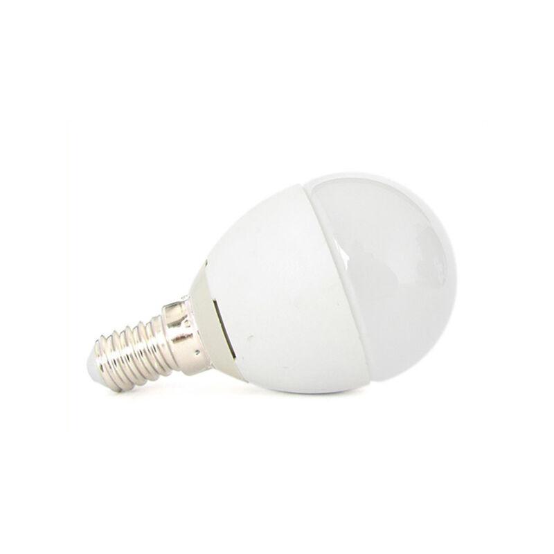 LC1467C Lampada A Led E14 P45 6W Bianco Caldo Forma Sfera Bulbo Pallina 240 Gradi 220V SKU-168 - Ledlux