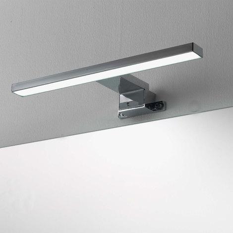 Lampade Per Bagno Da Specchio.Lampada A Led Per Specchio Da Bagno Cm 30 Cromata Per Applicazione