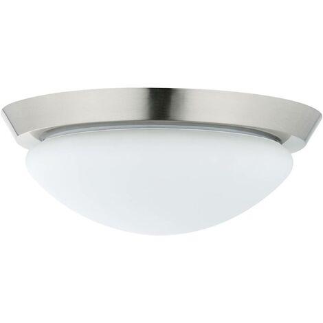 Lampada a soffitto per bagno LED (monocolore) E27 18 W Paulmann Ixa 70805 Ferro (spazzolato)